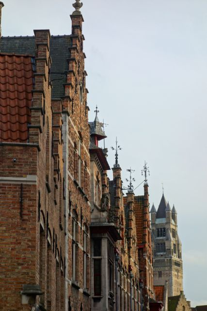 Belgium architecture is distinctly unique in Flanders