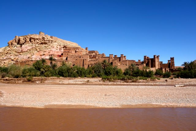 The famous Ait Benhaddou has been used in many movies