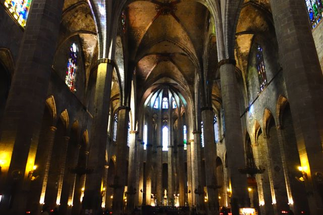 Esglesia de Santa Maria del Mar is a Catalan Gothic church