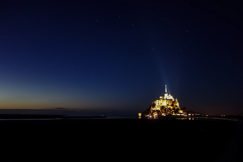 Starry Mont St Michel -1
