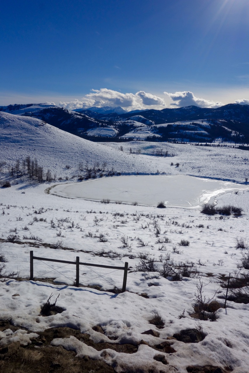 Winthrop WA Snow
