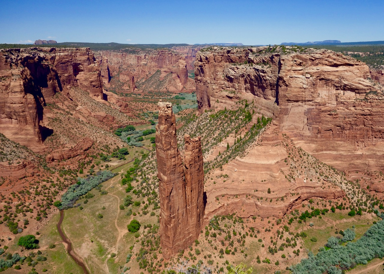 Spider Rock Canyon de Chelly Utah