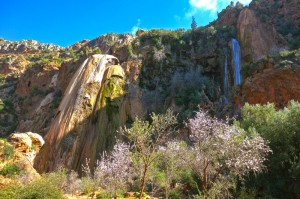 Immouzzer, the highest waterfall in North Africa