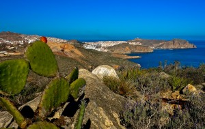 Looking out towards Al Holceima