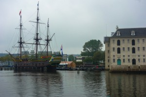 The appropriately located maritime museum