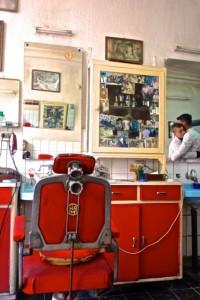 Barbershop comeraderie