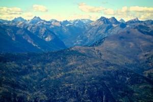 North Cascade range from Goat Peak