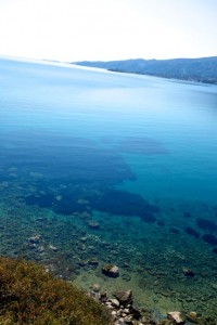 Clear waters of the Aegean