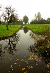 Part of the ancient Roman defense waters around Woerden