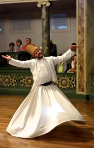 Whirling Dervish attaining bliss