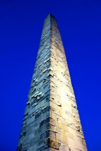 "Egyptian obelisk found in the ""spine"" of the Hippodrome"