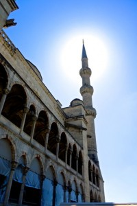 Lovely day to visit the Blue Mosque