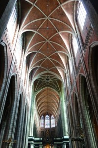 Incredible Romanesque interior of Saint Bavo's Cathedral