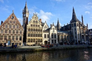 Old town Ghent