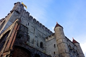 Gravensteen Castle in the heart of Ghent