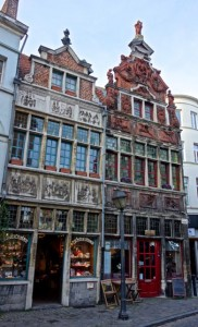 Some of the oldest structures in Ghent from the 800s