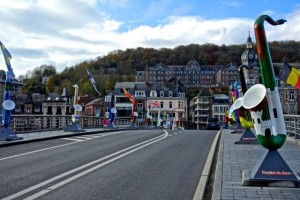 Inventor of the saxaphone was born in Dinant and is memorialized