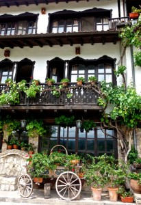 Classical and charming Bulgarian architecture