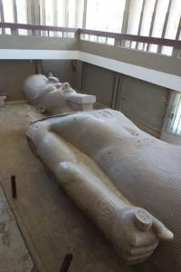 Colossus of Ramses II in Memphis Museum