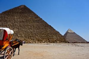 Common form of transportation in Giza