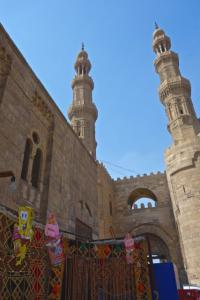 Bab Zuweila Gate in Old Cairo