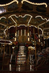 Merry-go-'round in the Place de la Horlage