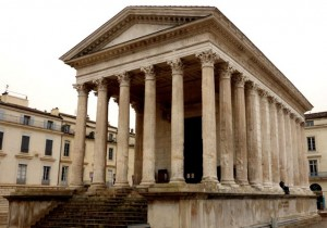 Maison Carree', the Roman temple
