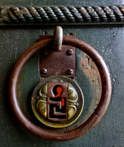 Medieval key hole