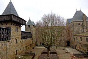 Cite' de Carcassonne was founded by the Visigoths in the 6th century