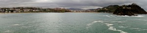 Bay of la Concha defines San Sebastian