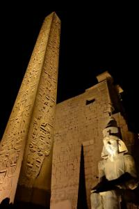 Luxor Temple entrance
