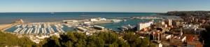 Port of Denia looking out to Ibiza, Mallorca and Minorca