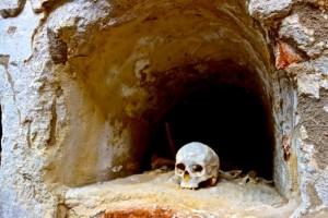 Medieval catacomb