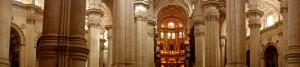 Interior of the Catedral de Granada, second largest in Europe
