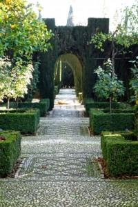 Jardines Bajos del Generalife