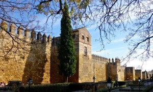 The Arab Wall hugs Cordoba