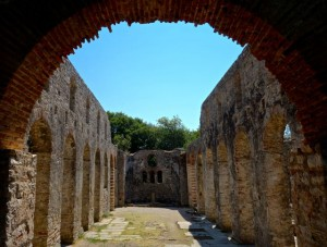 Roman Great Basilica in Butrint