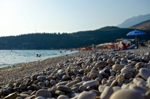 Himare beach