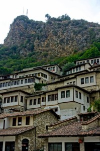 Berat with the castle above