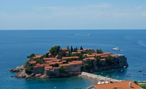 Sveti Stefan private island