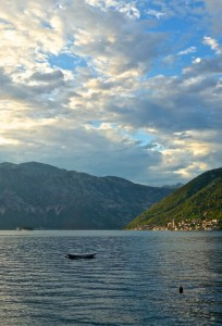 Perast from Stoliv