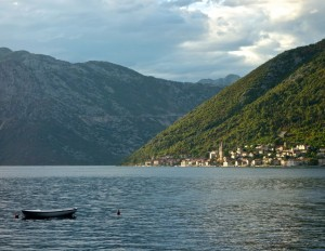 Perast village from Stoliv