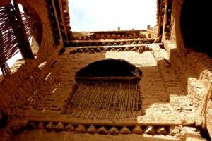 Interior courtyard of medieval kasbah