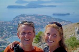 Intrepid travelers Aaron and Tammy