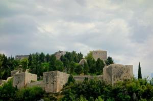 Large fort above Stolac, Bosnia Herzegovina