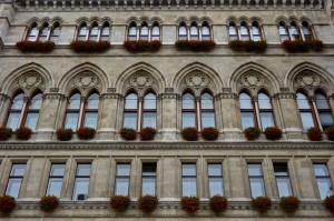 Rathaus windows