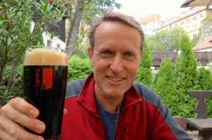 Sublime beer along the Vltava River