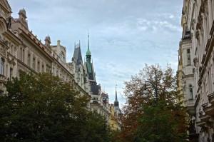 Lovely Prague street