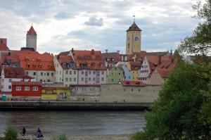 Downtown Regensburg
