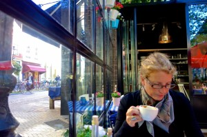 Savoring cafe life in Utrecht